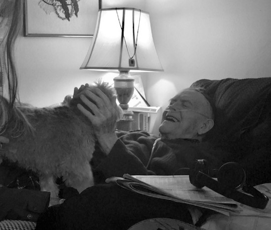 Elderly and pet companionship