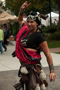 Treva Purcell, Belly Dancer