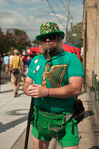 Sir Quala, The World's Tallest Leprechaun