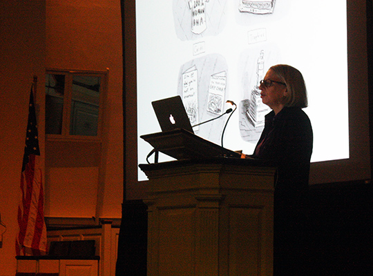 Roz Chast at Syracuse University