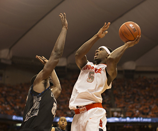 Syracuse vs. Georgetown